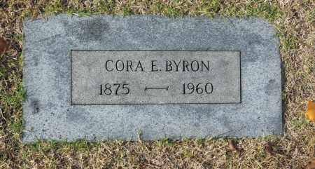 BYRON, CORA E - Washington County, Oklahoma | CORA E BYRON - Oklahoma Gravestone Photos
