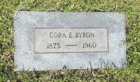 BYRON, CORA E. - Washington County, Oklahoma   CORA E. BYRON - Oklahoma Gravestone Photos