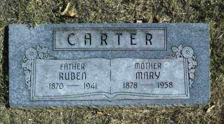 CARTER, MARY - Washington County, Oklahoma | MARY CARTER - Oklahoma Gravestone Photos
