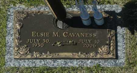 CAVANESS, ELSIE M - Washington County, Oklahoma   ELSIE M CAVANESS - Oklahoma Gravestone Photos