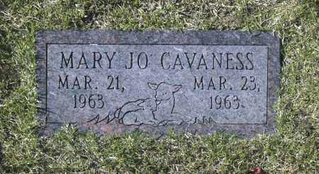 CAVANESS, MARY JO - Washington County, Oklahoma | MARY JO CAVANESS - Oklahoma Gravestone Photos