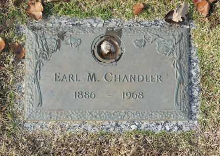 CHANDLER, EARL M - Washington County, Oklahoma | EARL M CHANDLER - Oklahoma Gravestone Photos