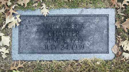CHARTER, MARY ALBERTA - Washington County, Oklahoma | MARY ALBERTA CHARTER - Oklahoma Gravestone Photos