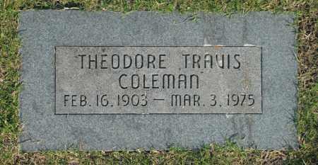 COLEMAN, THEODORE TRAVIS - Washington County, Oklahoma | THEODORE TRAVIS COLEMAN - Oklahoma Gravestone Photos