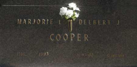 COOPER, MARJORIE L - Washington County, Oklahoma   MARJORIE L COOPER - Oklahoma Gravestone Photos