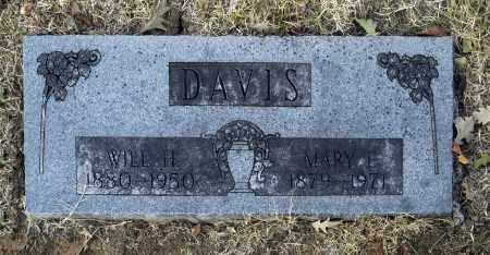 DAVIS, MARY E - Washington County, Oklahoma | MARY E DAVIS - Oklahoma Gravestone Photos