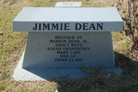 DEAN, JIMMIE - Washington County, Oklahoma   JIMMIE DEAN - Oklahoma Gravestone Photos
