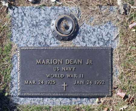DEAN JR (VETERAN WWII), MARION - Washington County, Oklahoma   MARION DEAN JR (VETERAN WWII) - Oklahoma Gravestone Photos