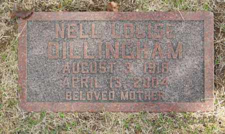 DILLINGHAM, NELL LOUISE - Washington County, Oklahoma | NELL LOUISE DILLINGHAM - Oklahoma Gravestone Photos