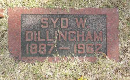DILLINGHAM, SYD W - Washington County, Oklahoma | SYD W DILLINGHAM - Oklahoma Gravestone Photos