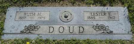 DOUD, LESTER E. - Washington County, Oklahoma   LESTER E. DOUD - Oklahoma Gravestone Photos