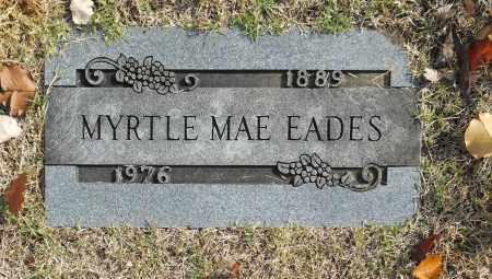 EADES, MYRTLE MAE - Washington County, Oklahoma | MYRTLE MAE EADES - Oklahoma Gravestone Photos