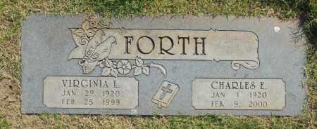 FORTH, CHARLES E. - Washington County, Oklahoma | CHARLES E. FORTH - Oklahoma Gravestone Photos