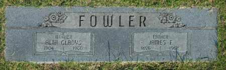 FOWLER, ALTA GLADYS - Washington County, Oklahoma   ALTA GLADYS FOWLER - Oklahoma Gravestone Photos