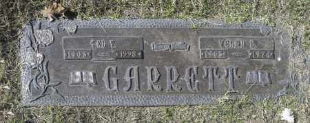 GARRETT, TED T - Washington County, Oklahoma | TED T GARRETT - Oklahoma Gravestone Photos