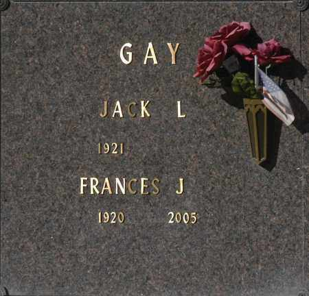 GAY, JACK L - Washington County, Oklahoma | JACK L GAY - Oklahoma Gravestone Photos