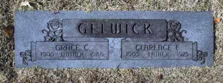 GELWICK, GRACE C - Washington County, Oklahoma | GRACE C GELWICK - Oklahoma Gravestone Photos
