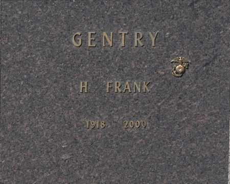 GENTRY, H FRANK - Washington County, Oklahoma | H FRANK GENTRY - Oklahoma Gravestone Photos