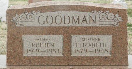RAINWATER GOODMAN, ELIZABETH LIZETTA - Washington County, Oklahoma | ELIZABETH LIZETTA RAINWATER GOODMAN - Oklahoma Gravestone Photos