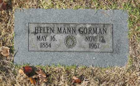 GORMAN, HELEN MANN - Washington County, Oklahoma | HELEN MANN GORMAN - Oklahoma Gravestone Photos