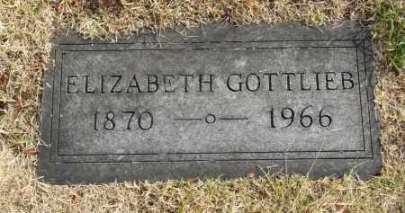 GOTTLIEB, ELIZABETH - Washington County, Oklahoma   ELIZABETH GOTTLIEB - Oklahoma Gravestone Photos