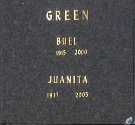 GREEN, BUEL - Washington County, Oklahoma | BUEL GREEN - Oklahoma Gravestone Photos