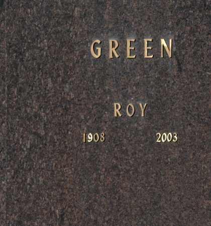 GREEN, ROY - Washington County, Oklahoma   ROY GREEN - Oklahoma Gravestone Photos