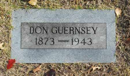 GUERNSEY, DON - Washington County, Oklahoma | DON GUERNSEY - Oklahoma Gravestone Photos