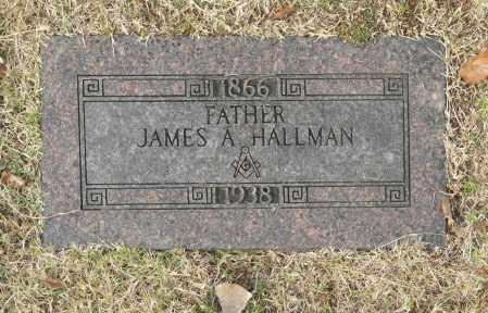 HALLMAN, JAMES A - Washington County, Oklahoma | JAMES A HALLMAN - Oklahoma Gravestone Photos
