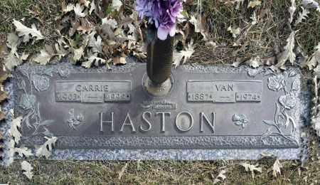 HASTON, VAN - Washington County, Oklahoma   VAN HASTON - Oklahoma Gravestone Photos