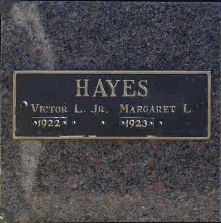 HAYES, MARGARET L - Washington County, Oklahoma | MARGARET L HAYES - Oklahoma Gravestone Photos