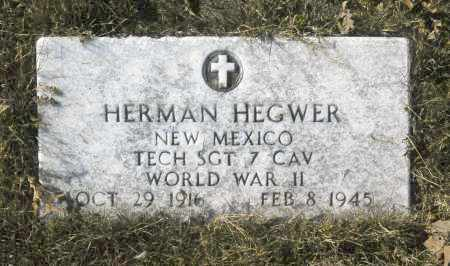 HEGWER, HERMAN - Washington County, Oklahoma | HERMAN HEGWER - Oklahoma Gravestone Photos