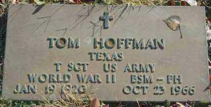 HOFFMAN, TOM - Washington County, Oklahoma   TOM HOFFMAN - Oklahoma Gravestone Photos