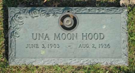 HOOD, UNA MOON - Washington County, Oklahoma | UNA MOON HOOD - Oklahoma Gravestone Photos