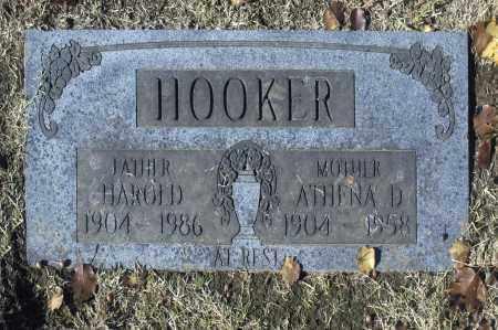 HOOKER, HAROLD - Washington County, Oklahoma | HAROLD HOOKER - Oklahoma Gravestone Photos