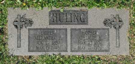 HULING, ADELAIDE M. - Washington County, Oklahoma | ADELAIDE M. HULING - Oklahoma Gravestone Photos
