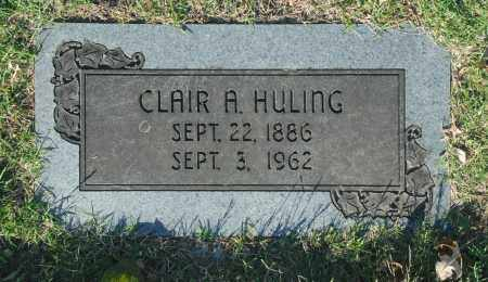 HULING, CLAIR A. - Washington County, Oklahoma | CLAIR A. HULING - Oklahoma Gravestone Photos