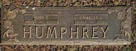 HUMPHREY, RUBY E. - Washington County, Oklahoma | RUBY E. HUMPHREY - Oklahoma Gravestone Photos