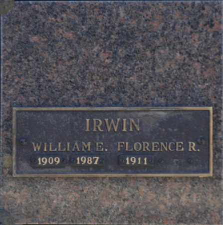 IRWIN, WILLIAM E - Washington County, Oklahoma | WILLIAM E IRWIN - Oklahoma Gravestone Photos