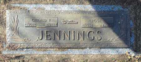 JENNINGS, ROSE I - Washington County, Oklahoma | ROSE I JENNINGS - Oklahoma Gravestone Photos
