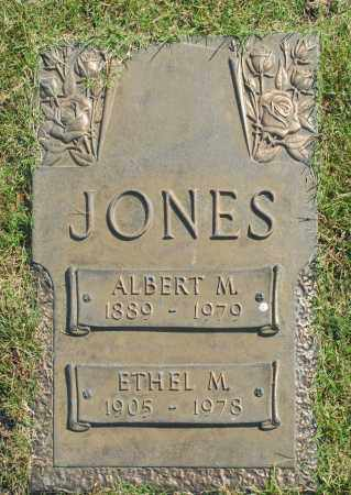 JONES, ETHEL M. - Washington County, Oklahoma | ETHEL M. JONES - Oklahoma Gravestone Photos
