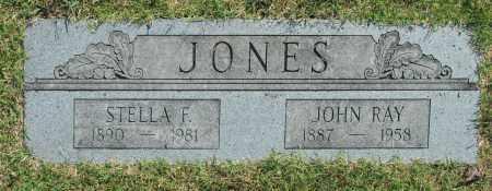 JONES, JOHN RAY - Washington County, Oklahoma   JOHN RAY JONES - Oklahoma Gravestone Photos