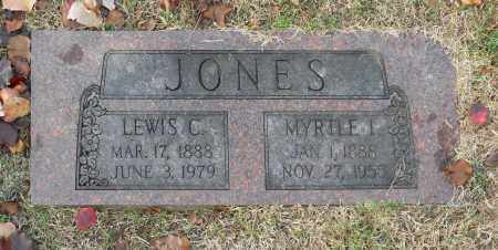 JONES, LEWIS C - Washington County, Oklahoma | LEWIS C JONES - Oklahoma Gravestone Photos