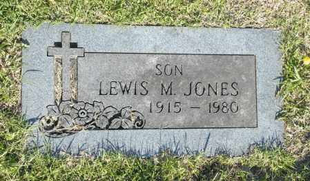 JONES, LEWIS M. - Washington County, Oklahoma | LEWIS M. JONES - Oklahoma Gravestone Photos
