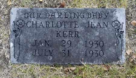 KERR, CHARLOTTE JEAN - Washington County, Oklahoma | CHARLOTTE JEAN KERR - Oklahoma Gravestone Photos