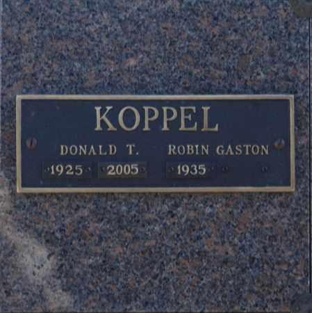 KOPPEL, DONALD T - Washington County, Oklahoma   DONALD T KOPPEL - Oklahoma Gravestone Photos
