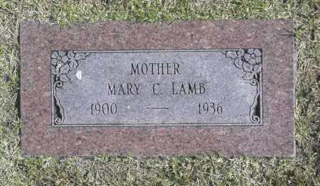 LAMB, MARY C - Washington County, Oklahoma | MARY C LAMB - Oklahoma Gravestone Photos
