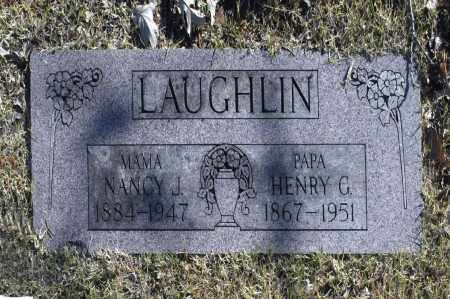 LAUGHIN, HENRY G - Washington County, Oklahoma | HENRY G LAUGHIN - Oklahoma Gravestone Photos