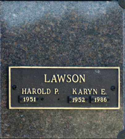 LAWSON, KARYN E - Washington County, Oklahoma | KARYN E LAWSON - Oklahoma Gravestone Photos
