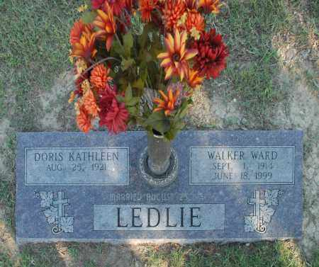 LEDLIE, WALKER WARD - Washington County, Oklahoma | WALKER WARD LEDLIE - Oklahoma Gravestone Photos